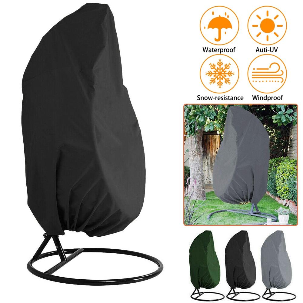 Garden Hanging Swing Chair Cover Chair Dustproof Cover Sofa Waterproof Rain Garden Outdoor Protective Case Furniture Cover D30