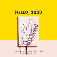 A5 Thicken Daily Memos Index Hardcover 2020 Schedule Planner Organizer Cute Daily Week Plan Agenda 2020 Planner Notebook Journal