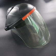 Safety Protective Cover Head-mounted Face Shield Clear Screen Protect Face Shield-shaped Structure Full Face Protection