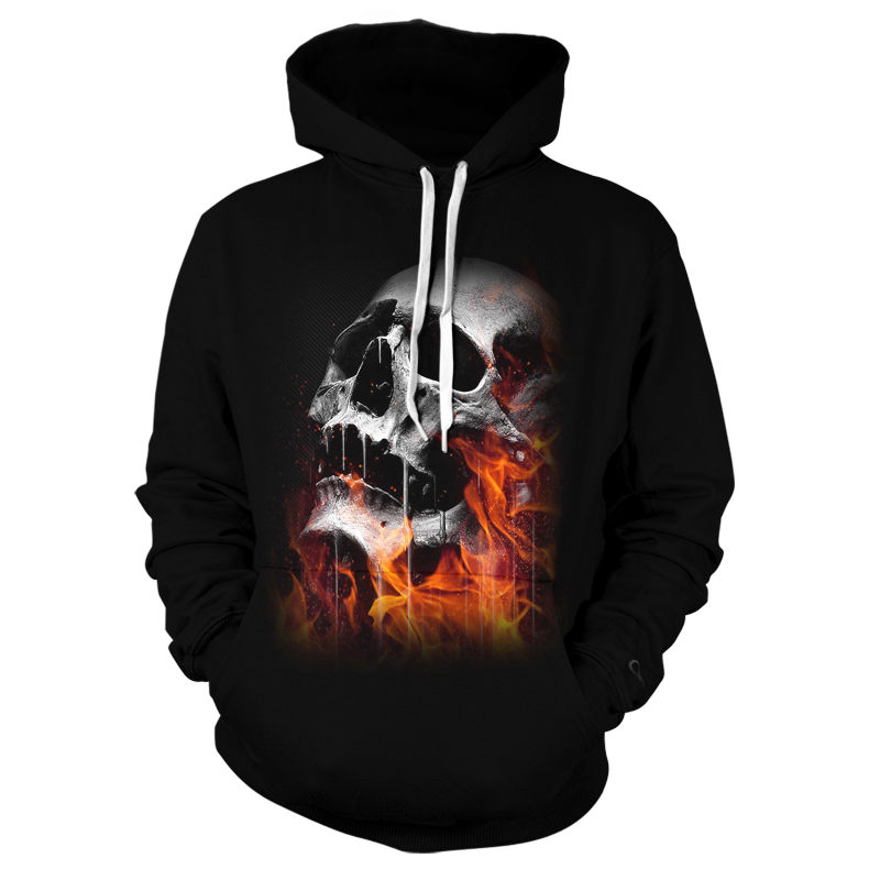 Hot sale Hoodie 3D print 2020 horror Skull Mens woman Hoodies leisure Chaopai Sweatshirt Autumn Winter High Quality Jacket
