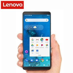 Image 1 - Originele Lenovo Tab V7 PB 6505MC 3Gb Ram 32Gb Rom Smartphone Snapdragon 450 Octa Core 5180Mah 6.9 Inch android 9.0 Pie Ota