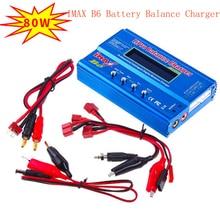 Cabzty iMax B6 Balance Charger 80W 6A Model Li Po/Li Fe/Ni MH/Li lon/Ni Cd/PB Battery Charger T plug/Tamiya/XT60 optional