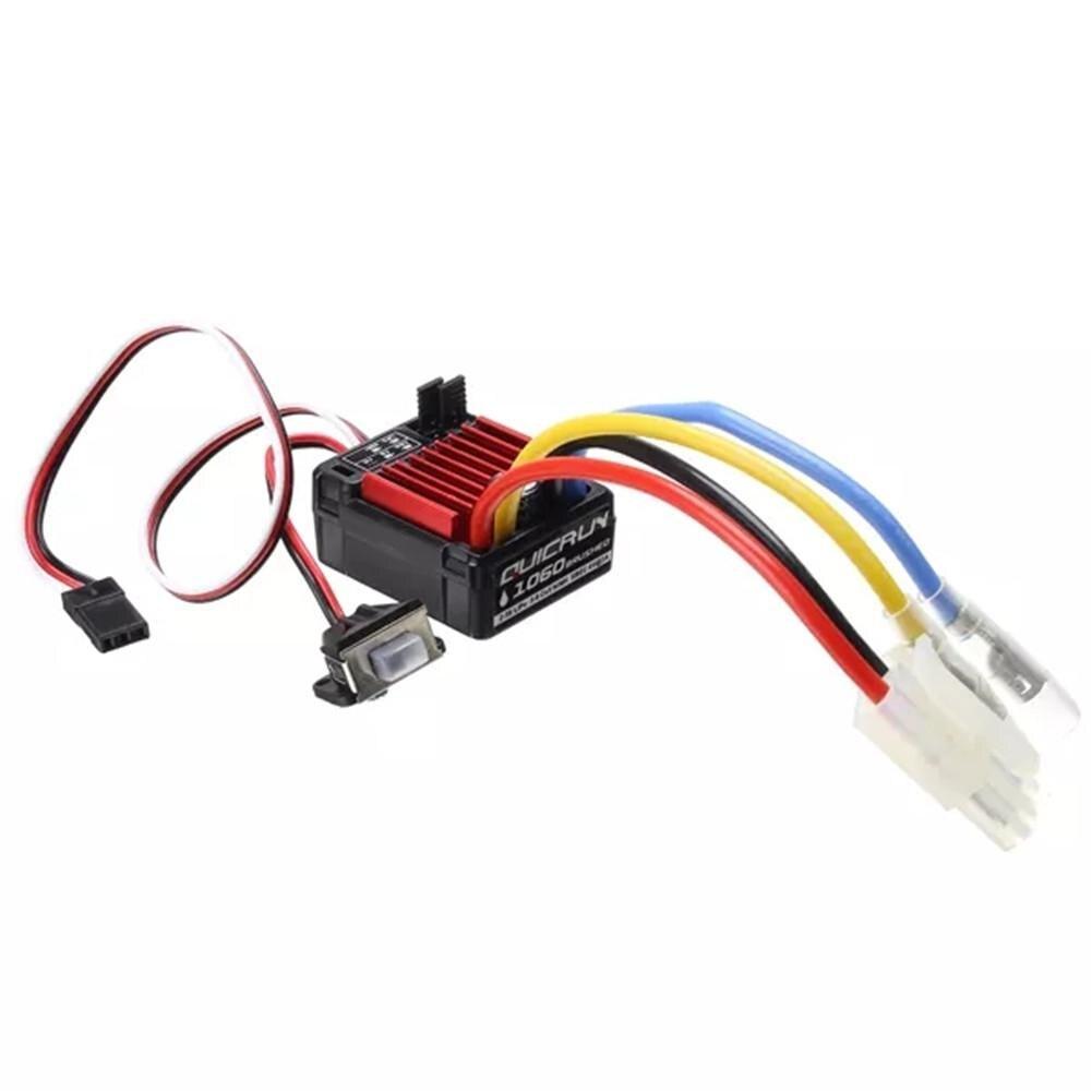 QuicRun 1060 cepillado ESC 60A/360A 2A/5V 11,1 V auto parte 1 Pza 3S 40A Li-ion cargador de batería de litio Placa de protección PCB BMS para Motor de perforación 11,1 V 12,6 V Módulo de célula Lipo equilibrio mejorado