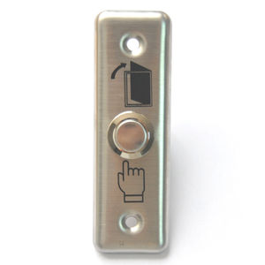 Image 5 - 92x28mm Stainless Steel Door Bell Push Button Switch Touch Panel For Access Control Doorbell Switch Slim Exit Push Release