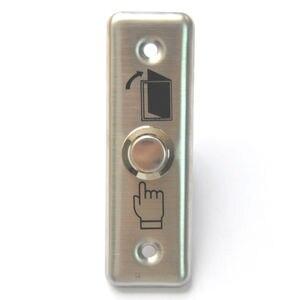 Image 5 - 92x28mm drzwi ze stali nierdzewnej przycisk z dzwonkiem przełącznik Panel dotykowy do kontroli dostępu dzwonek do drzwi Slim Exit Push Release