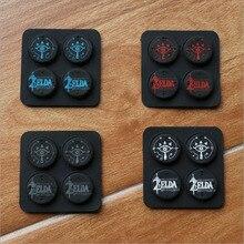 2019 nouveau Silicone pouce bâton poignée casquettes analogique Joystick housse pour Zelda nintention commutateur NS JoyCon contrôleur Joy Con Joypad