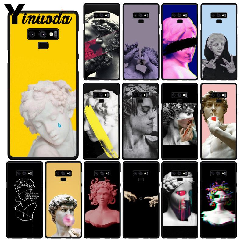 Yinuoda Abstract Art Lines David Aesthetic Art Painting Phone Case For Samsung Galaxy A50 Note10 Pro 7 8 5 J5 J7 Prime J2prime