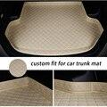 Индивидуальный автомобильный коврик для багажника для HONDA all Mole брелок с чехлом Elysion Fit Jade Jazz Vezel Shuttle URV XRV автомобильные аксессуары для укладк...