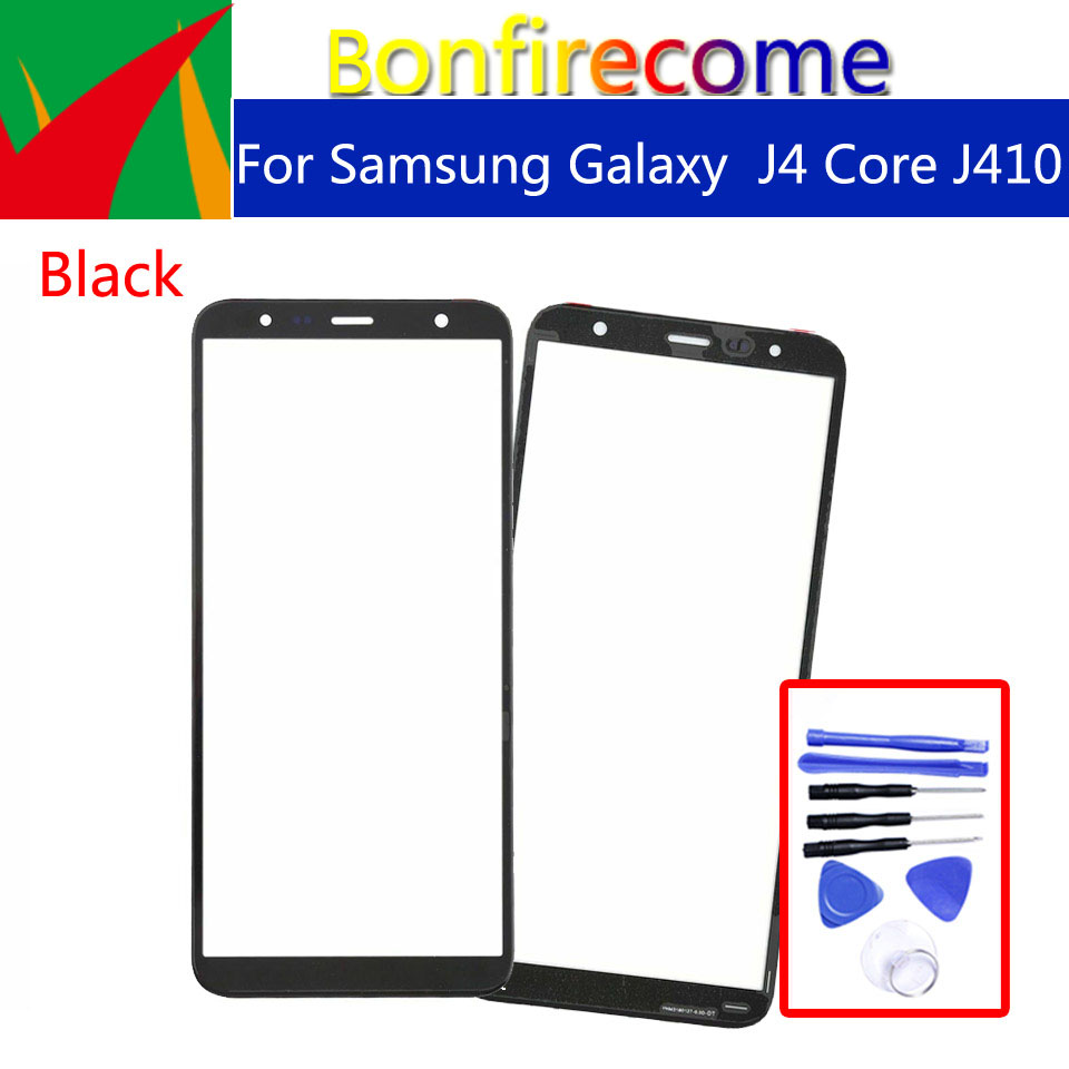 J410 Touchscreeen For Samsung Galaxy J4 Core J410 J410F J410DS J410G Front Outer Glass Touch Screen Lens Replacement 6.0