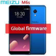 Original Meizu M6s mblu S6 4G LTE Exynos 7872 Hexa Core 3GB 32GB 5.7″ Full screen 16.0MP Camera Fingerprint Cell Phone