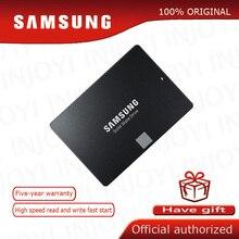 سامسونج 860 EVO الداخلية الحالة الصلبة محرك 250GB 500GB 1 تيرا بايت HDD القرص الصلب HD SATA 3 2.5 بوصة SATA III SSD لأجهزة الكمبيوتر المحمول سطح المكتب