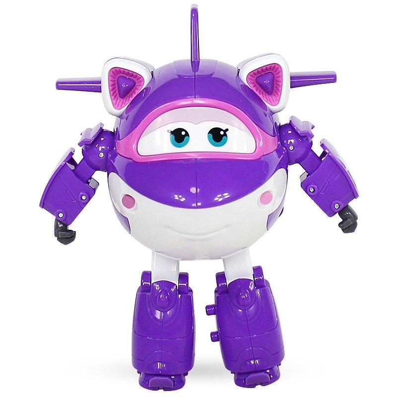 Новинка, большие Супер Крылья, Кристаль, деформация, самолет, робот, фигурки, Супер крыло, трансформация, игрушки
