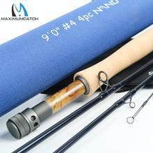 Maximumcatch Nano Fly Fishing Rod IM12 40T+46T Toray Carbon Fast Action Super Light with Cordura Tube 3/4/5/6/7/8WT 84/9