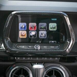 Image 3 - SHINEKA ABS 5 สีGPSนำทางแผงMediaกรอบ 8.0 นิ้ว 6th GenสำหรับChevrolet Camaro 2017 + รถจัดแต่งทรงผม