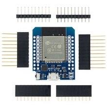 10pcs D1 מיני ESP32 ESP 32 WiFi + Bluetooth אינטרנט של דברים פיתוח לוח המבוסס ESP8266 באופן מלא פונקציונלי