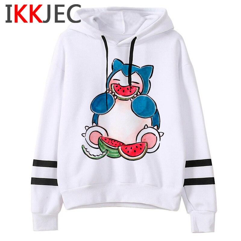 Pokemon Go Funny Cartoon Warm Hoodies Men/women Cute Pikachu Japanese Anime Sweatshirts Fashion 90s Steetwear Hoody Male/female 23