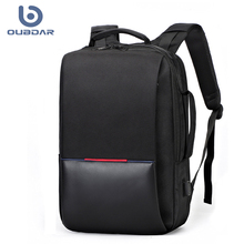 OUBDAR 2020 new waterproof backpacks USB charging school bag anti-theft male backpack for Litthing laptop travelling mochila