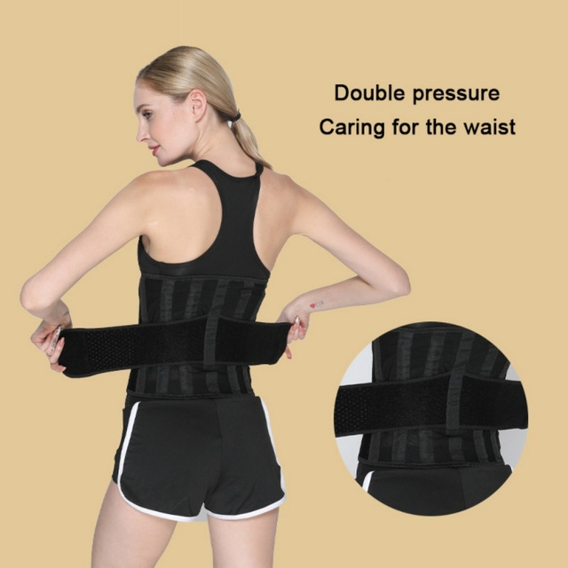Women Waist Trimmer Belt Weight Loss Sweat Band Wrap Fat Tummy Stomach Sauna Sweat Belt Sport Safe Accessories 5
