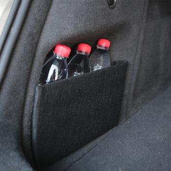 1 sztuk bagażnik samochodowy przegroda partycji klapa boczna przegroda dla Audi Q3 2012 -2016 naklejka samochodowa wyposażenie wnętrz towarów tanie i dobre opinie CN (pochodzenie) Pojemnik do bagażnika Torba Flannel + high density wood board Storage Baffle Partition Car Decal Car Accessories