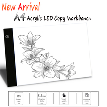 Graphics tablet a4 led light pad Tracing Copy Board USB power supply  electronics Art Graphic digital drawing Writing tablet a4 led graphic tablet light box tracer digital tablet writing painting drawing ultra thin tracing copy pad board artcraft sketch