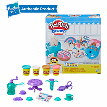 Hasbro Play-Doh Kitchen Creations Delightful Donuts Set Play Doh Non Toxic Modeling Clay Educational DIY Toys For Kids