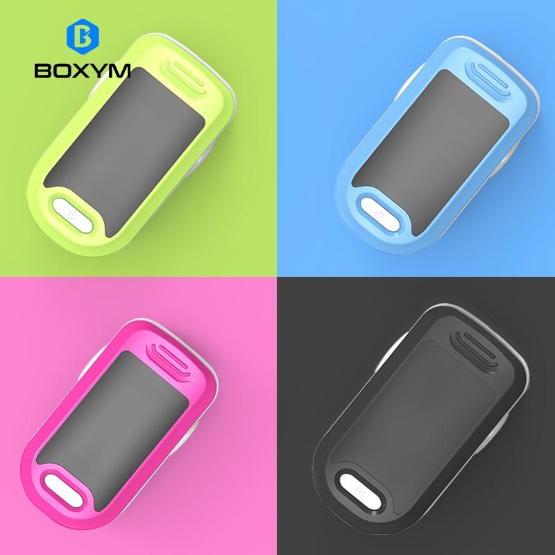 BOXYM Medical Fingertip Pulse Oximeter blood oxygen Heart Rate Monitor Digital LED Oximetro Health Monitors Oximetro De Pulso    -