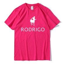 Новинка 2020, Мужская футболка, топ RODRLGO, хлопковая Мужская футболка, Повседневная футболка с коротким рукавом и принтом, модная крутая Мужская футболка