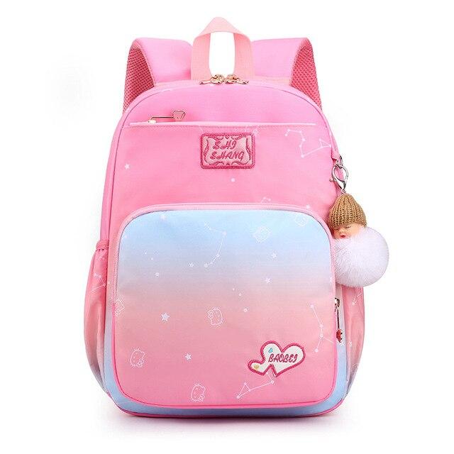 Фото школьные ранцы для девочек милые водонепроницаемые детские сумки
