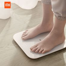 XIAOMI 2.0 Intelligent bluetooth Body Scale Smart APP Control Precision Weight Scale LED Display Fitness Yoga Tools Scale