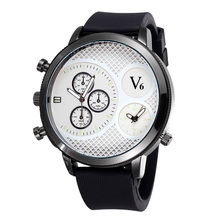 2020 New Listing Brand Fashion Men Sports Watch Leather Military Mens Watchs Quartz  Dual Time Zone  Relogio Masculino  Men Gift oulm luxury brand mens leather band quartz watch three time zone male military army wristwatches with gift box relogio releges