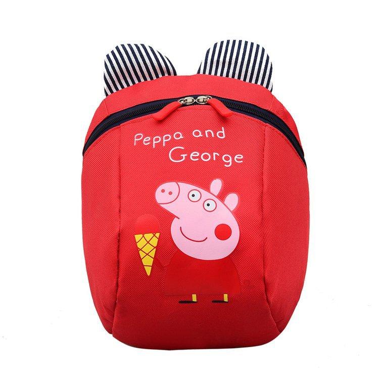 New Style Korean-style Piggy Hand Holding Rope Anti Lost School Bag Men And Women Children Small Mini Cool Cartoon Children Bac