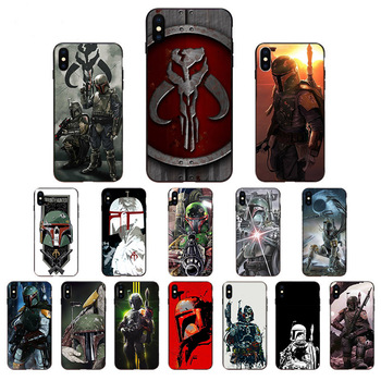 Boba Fett Cool Design shell soft TPU phone case cover for iphone 11 pro XR SE 2020 X XS max 6 7 6s 8 plus 5S Coque Cell phones image