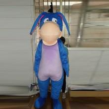 EOM mascot costume Custom donkey character adult size