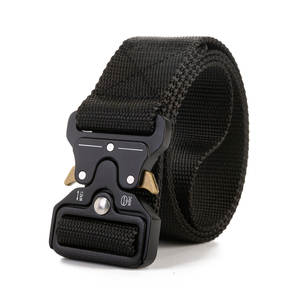 Tactical-Belts Metal-Buckle Hunting-Accessories Training Adjustable Military Nylon Heavy-Duty