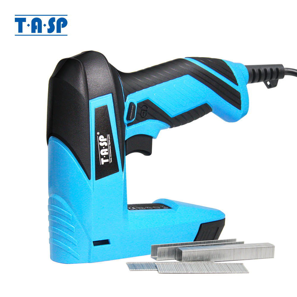 TASP 230V Electric Stapler and Nailer Furniture Staples  amp  Nails gun for Home Carpentry Construction Nailer Woodworking Tools