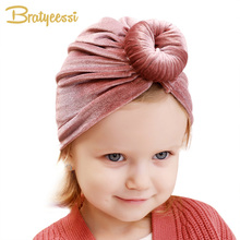 14 Colors Baby Hat for Girls Velvet Winter Kids Cap Turban Hats Beanie Toddler Infant Accessories 6-36M