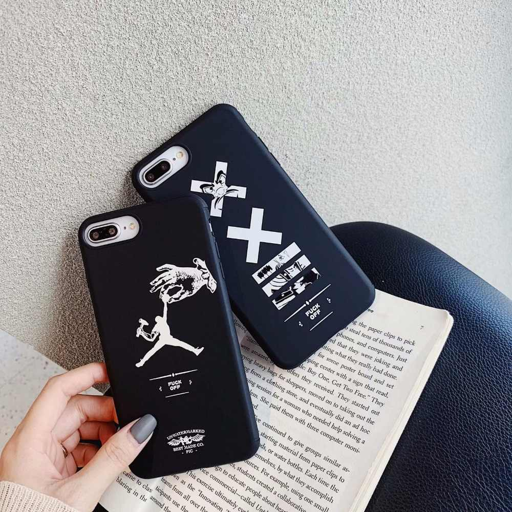 Новинка jordan спортивный бренд мягкий чехол для iphone11 11pro 11 pro max X XR XS MAX 7 7plus чехол для телефона чехол s Coque Shell