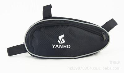 New Style <font><b>yanho</b></font> Riding Bicycle Mountain <font><b>Bike</b></font> <font><b>Bag</b></font> Triangular Tool Kit in Tube Beam <font><b>Bag</b></font> Bicycle Outdoor Equipment image