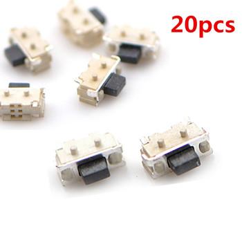 20 sztuk 2*4*3 5mm Micro SMD przełączniki taktowe guzik boczny przełączniki tanie i dobre opinie KOQZM CN (pochodzenie) durable Micro SMD Tact Switch Dotykowy włącznik wyłącznik Switches lot (20 pieces lot) 0 012kg (0 03lb )