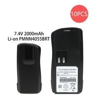 10 Pcs Battery for Motorola AXU4100, AXV5100, BC120, CP125, GP2000, GP2000s, GP2100, P020, SP66, VL130, PMNN4046 PMNN4046A