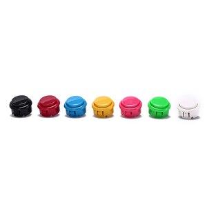 Replace Parts Of 7 Colors Games Parts Accessories 10pcs Arcade Copy Sanwa Button Games Buttons