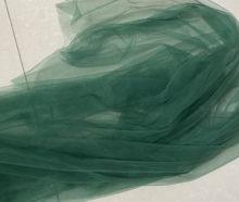 Saia de tule fino e macio com 160cm, largura 4 metros/lote, esmeralda, verde, de boa qualidade, com furos minúsculos, gaze de malha, vestido de noiva véu de tutu