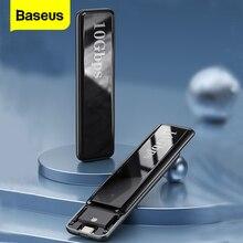 Case Box-Cover Docking-Station External-Enclosure USB Baseus SSD Type-C NVME Disk M2