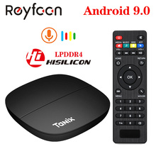 Tanix H1 TV Box Android 9.0 Hisilicon Hi3798M Quad Core 4K 3