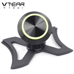 Vtear for Audi A3 Q2L car phone holder rotary air vent outlet mount bracket car-styling 360 degree stand accessories interior