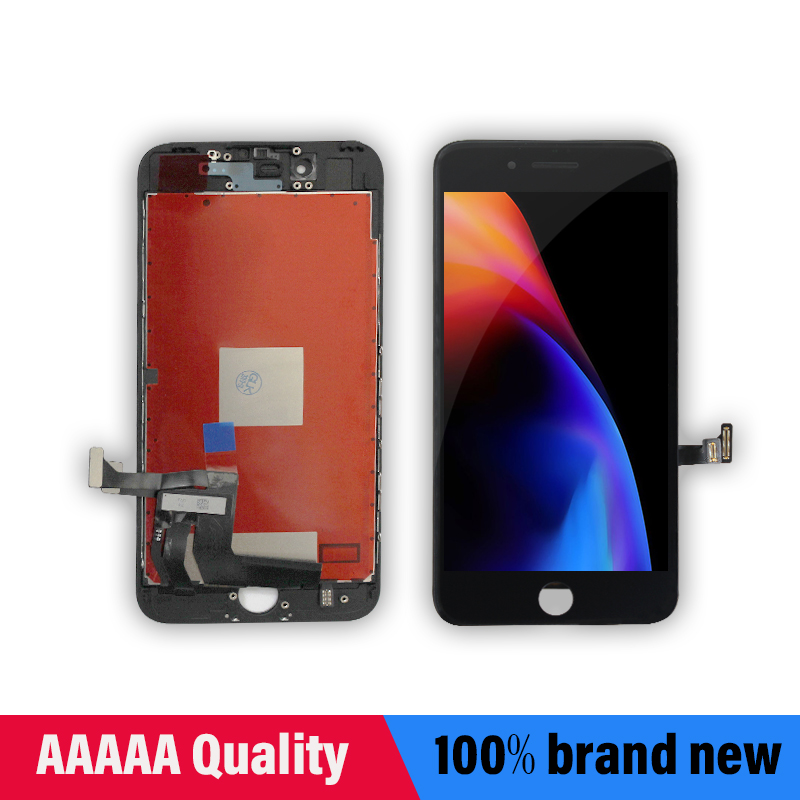 Image 2 - White&Black Lifetime Assurance Quality AAAAA Brand New For iPhone 7 7G i7 4.7'' LCD Display Touch Screen Digitizer Assembly+Gift-in Mobile Phone LCD Screens from Cellphones & Telecommunications