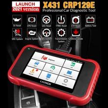 LAUNCH X431 CRP129E OBD2 ENG ABS SRS AT 진단 도구 EPB 오일 SAS ETS TPMS 재설정 서비스 OBDII 코드 리더 스캐너 pk CRP123e
