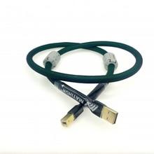 MATIHUR czysta miedź 4 rdzeń posrebrzany kabel USB DAC typ linii A B A do B dźwięk cyfrowy Mcintosh HIFI