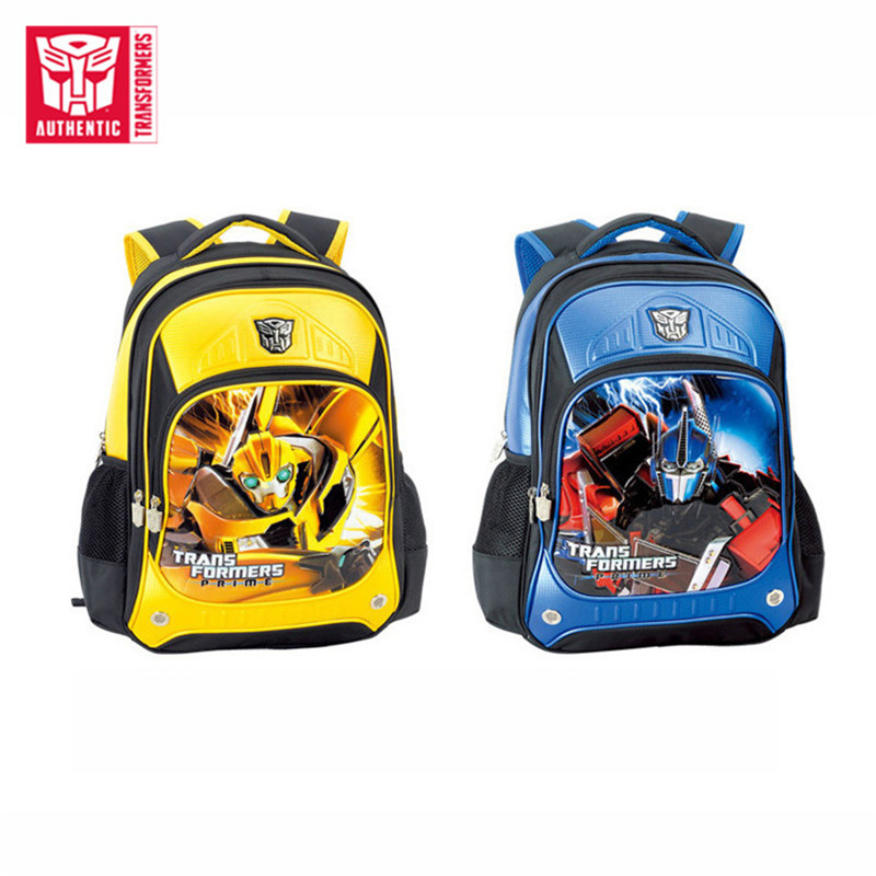 Transformers 2019 New Children's Primary And Secondary School Schoolbags Large Capacity Waterproof Cartoon Children's Schoolbag