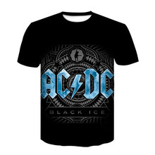 Men Short Sleeve T-Shirt Brand Plus Size Hip-Hop T-Shirt Men Metal Rock Band 3D Print Black T-Shirt 2021 Ice T-Shirt 130-6xl